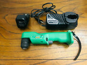 Hitachi Cordless Right Angle Drill Ni-mh With Battery And Genuine Charger Nice