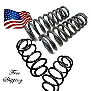 D 2015-up Chev Suv Tah Yukon Drop Front/rear 1 Coil Spring 351510/371510