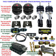 B Fbs-bui-14-3 Buick Plug And Play Fbss Complete Air Suspension S
