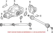 Genuine Oem Rear Left Cv Axle Assembly For Bmw 33207953545