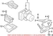 Genuine Oem Abs Hydraulic Assembly For Bmw 34512460437