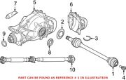Genuine Oem Rear Left Cv Axle Assembly For Bmw 33208689745