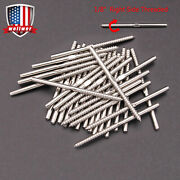T316 Stainless Steel Swage Lag Screw Stud Right Thread Fit 1/8 Cable Railing
