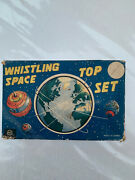Marx Toys Whistling Space Tops Circa 1958 Highly Collectable