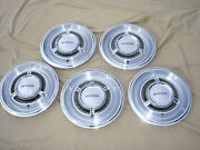 5 Vintage 15 1969 - 1970 Pontiac / Pmd Hubcaps Wheel Covers Center Cap