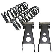 B 1983-1997 Ford Ranger Mazda 2wd 2 Drop Coil Springs 2shackle 253320