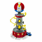 Paw Patrol Mighty Pups Super Paws 2 Feet+ Tall Lookout Tower W/ Chase Figure