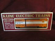 New O/027 Scale K-line K-90007 Timken Roller Freight Classic Box Car Gauge