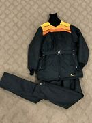 Vintage Bombardier Skidoo Youth Snowmobile Jacket/pant Suit