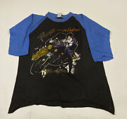 Very Rare Vintage And The Revolution Live Tour 1985 3/4 Sleeve Size Large