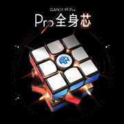 Gan 11m Pro Frosted Black 3x3x3 Speed Magic Cube Puzzle Toys