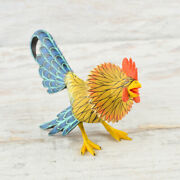 Rooster Alebrije Oaxacan Wood Carving A2140   Magia Mexica