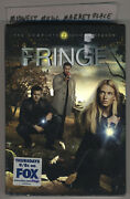 2010 Fringe The Complete 2nd Second Season 6-dvd Set - Brand New Sealed W/ Hype