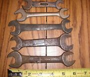 5 Antique Ford Auto / Farm Tools Wrenches Model T / A /tractor