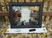 Salem Witch Trials Shadow Box - Drawing, Antiques + Rare '1800's Sheet Music