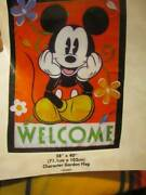 Disney Mickey Mouse 28x40 Inches/71.1x102 Cm Character Garden Flag