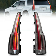 Left+right Clear Led Rear Signal Taillight For Chevrolet Tahoe Suburban 1520