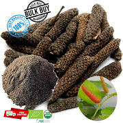 Natural Pure Long Pepper Whole Ground Powder Piper Longum- Poivre Long Pippali