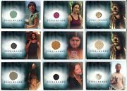 Lost Season 2 Two 14 Pieceworks Costume Card Set Pw1-pw11 With Pw12a + Pw12b
