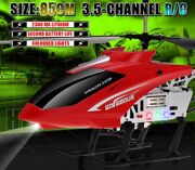Big Size Helicopter 4 Channel 2.4g Remote Control Children Toy Gift Rechargeble