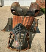 39 Plymouth 2 Fenders Grill Intire Hood Excellent No Dents Or Bondo. Extra Parts