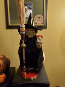 Steinbach Nutcracker Wicked Witch Of The West From The Wizard Of Oz Series Rare