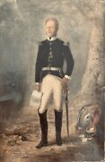 Oil Painting Of Napoleonic Cuirassier Officer Wearing Legion D'honneur