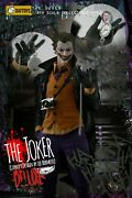 Daftoys 1/6 Comic The Joker Cursed Clown Action Figure No Body Fit Mx02-a Body