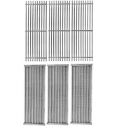 Bbq Future 3 Pack Grill Grate And Emitter Replacement Parts For Char-broil Or