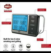 Expert Grill Deluxe Grilling Thermometer With Built-in Timer And Lcd Screen