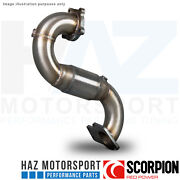 Vauxhall Astra J Vxr 12-17 Scorpion 3 Downpipe With High Flow Sports Cat