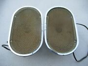Porsche 356 Pre A / Early A Original Speakers With Grilles Set1 C106