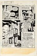 House Of Mystery 256 1978 Original Art Page 1 Comic Halloween Wrightson