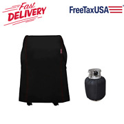 29.5 Bbq Grill Cover For Weber Spirit 210 Series And Charbroil 2 Burner Gas Grill