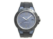 Bvlgari Dg41smc Diagono Magnesium Automatic Rubber Menand039s Watch Blue Box And Papers