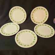 Vintage 1940and039s Harker Dinner Dishes Plate Pottery Royal Gadroon Ivy 1 3 Lot 5