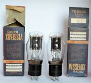 2a3 Visseaux Tubes Legendary Engraved Made In France Triode Boxed Valve Dht
