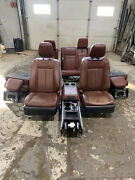 09-14 Ford Expedition King Ranch Interior Front2nd3rd Seat Cosnole