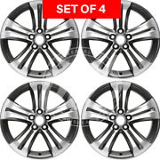 New Four 19x7.5 Replacement Alloy Wheel Rim Fits Toyota Highlander 2008-2013