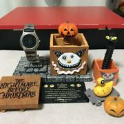 Nightmare Before Christmas 600 Limited Edition Wristwatch With Ceramic Figure