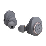 Audio-technica Ath-ckr7tw Gy Bluetooth Wireless In-ear Headphones Gray Msrp 379