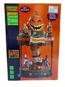 Spooky Town Eerie-go-round Carousel Halloween Signature Lemax Animated-last One