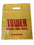 1 Tower Shopping Bag Collectible Records Vintage 15and039and039 X 12and039and039 45s Www Bag Rare
