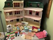 Fisher Price Loving Family Sweet Traditions Home For The Holidays Dollhouse