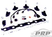 Platinum Racing Products For 1jz And 2jz R35 Coil Bracket Kit- Black