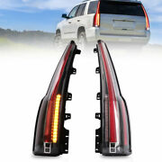 Clear Led Taillight Rear Light Left+right Replacement For 2015-2020 Gmc Yukon