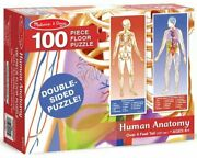 Floor Puzzle 100 Parts Human Body And Anatomy - Melissa And Doug