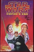 Star Wars Empire's End 1997 - Signed Dave Dorman Tpb - Jedi Kids Appearance