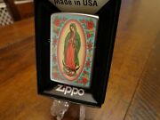 Madonna With Roses Zippo Lighter Mint In Box