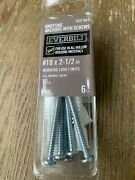 Everbilt Knotting Anchors W/screws, Pk Of 6, Use In All Hollow Bldg Materials,